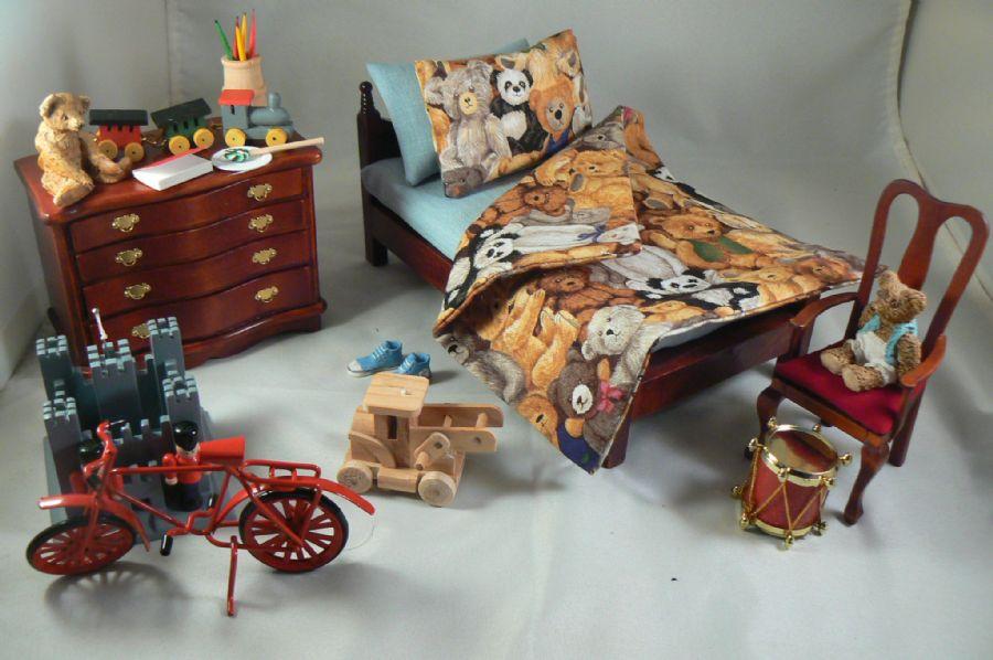 Little Boys Dressed Bedroom Set