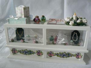 12th Scale Miniature Dressed Wedding Counter